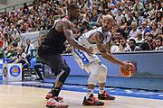 DESCRIZIONE : Trofeo Meridiana Dinamo Banco di Sardegna Sassari - Olimpiacos Piraeus Pireo<br /> GIOCATORE : David Logan<br /> CATEGORIA : Passaggio<br /> SQUADRA : Dinamo Banco di Sardegna Sassari<br /> EVENTO : Trofeo Meridiana <br /> GARA : Dinamo Banco di Sardegna Sassari - Olimpiacos Piraeus Pireo Trofeo Meridiana<br /> DATA : 16/09/2015<br /> SPORT : Pallacanestro <br /> AUTORE : Agenzia Ciamillo-Castoria/L.Canu