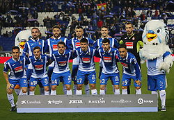 November 27, 2017 - Barcelona, Spain - Espanyol team during La Liga match between RCD Espanyol v Real Betis Balompie,in Barcelona, on November 27, 2017. Photo: Joan Valls/Urbanandsport/Nurphoto  (Credit Image: © Joan Valls/NurPhoto via ZUMA Press)