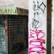 Since the financial crisis hit Greece there has been an explosion of graffiti on the streets of Athens, the nation's capital. This is an example of some of the colorful and often quite creative street art.