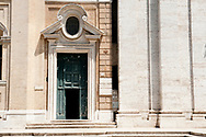 Entrance, Biblioteca Vallicelliana, Rome, Italy