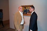 BRIAN CLARK; JUNIOR LENHARO, Gauguin, Tate Modern. London. 28 September 2010. -DO NOT ARCHIVE-© Copyright Photograph by Dafydd Jones. 248 Clapham Rd. London SW9 0PZ. Tel 0207 820 0771. www.dafjones.com.