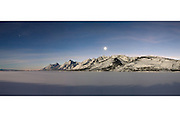 Teton Range, Grand Teton National Park, Wyoming  <br /> Photo by David Stubbs