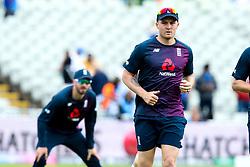 Jason Roy of England warms up next to James Vince of England - Mandatory by-line: Robbie Stephenson/JMP - 30/06/2019 - CRICKET - Edgbaston - Birmingham, England - England v India - ICC Cricket World Cup 2019 - Group Stage