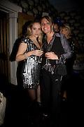 ALLEGRA FELTZ AND FIA TARRANT, Bingo Lotto launch party. Soho Hotel Richmond Mews. London. 29 February 2008.  *** Local Caption *** -DO NOT ARCHIVE-© Copyright Photograph by Dafydd Jones. 248 Clapham Rd. London SW9 0PZ. Tel 0207 820 0771. www.dafjones.com.