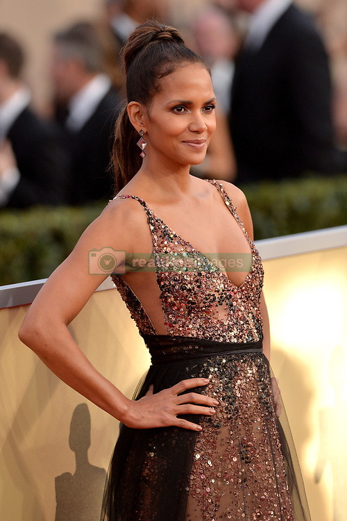 Halle Berry attends the 24th Annual Screen Actors Guild Awards at the Shrine Auditorium on January 21, 2018 in Los Angeles, California. Photo by Lionel Hahn/ABACAPRESS.COM