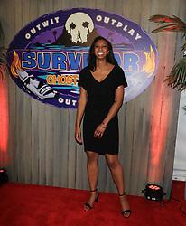 "Laurel Johnson at the season 36 finale celebration of ""Survivor: Ghost Island"" held at CBS Television Studios in Los Angeles, CA."