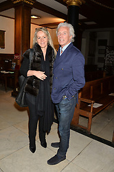 GORDON CAMPBELL GRAY and LIZZY MOBERLY at a reception and debate to celebrate the publication of  'Women in Waiting, Prejudice at the the Heart of the Church' by Julia Ogilvy held at St.James's Church, 197 Piccadilly, London on 11th March 2014.