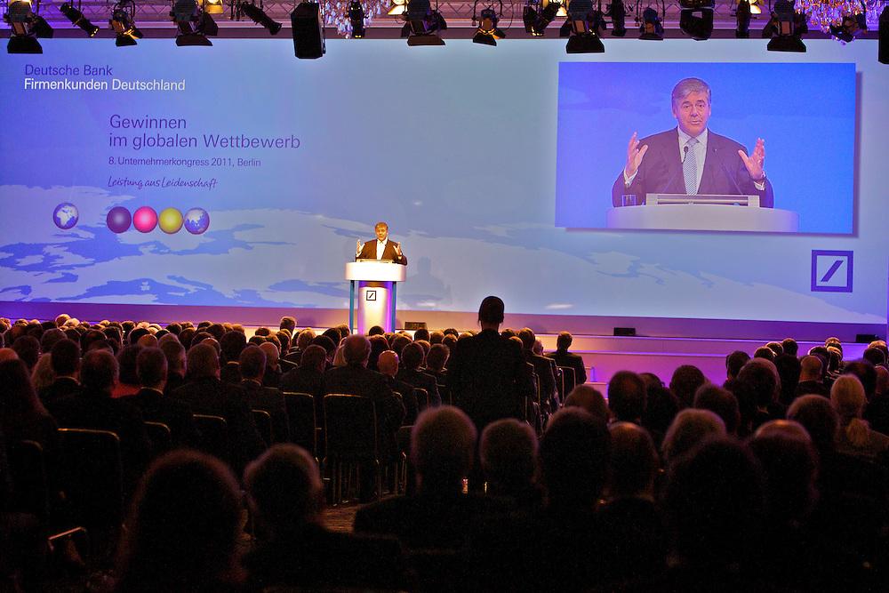 Kunde: Deutsche Bank Firmenkunden, Josef Ackermann