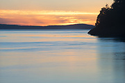 Moody sunset, San Juan Islands, Washington State