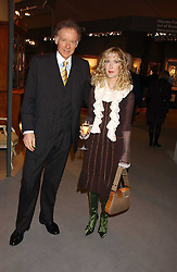 RICHARD & BASIA BRIGGS at the British Antiques Dealers Association antiques & Fine art fair in aid of the charity Childline held at the Duke of York Square, Chelsea, London on 23rd March 2006.<br />