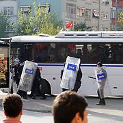 Bursaspor's supporters during their Turkish Super League soccer match Galatasaray between Bursaspor at the AliSamiYen Stadium at Mecidiyekoy in Istanbul Turkey on Sunday 25 April 2010. Photo by Mehmet ESKICI/TURKPIX