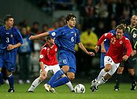 Fotball , 6. september 2006 , EM-kvalifisering , Norge - Moldova 02,<br /> Euro - q.<br /> Norway - Moldova<br /> Alexandru Epureanu , Moldova
