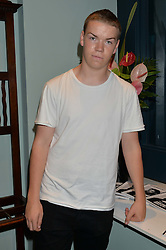 Actor WILL POULTER at the launch of Give Me Sport Magazine held at Library, 112 St.Martin's Lane, London on 30th July 2014.