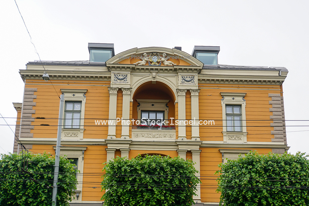 Building in Old Town of Riga, Latvia