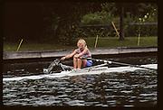 Molesey, Great Britain. GBR W1X. Sue BROWNLOW. 1992 British International Rowinig Training on the Henley Reach, Surrey,  [Mandatory Credit. Peter Spurrier/Intersport Images] +1992 +Molesey +Henley 1992 GBRowing Training, Molesey/Henley, United Kingdom