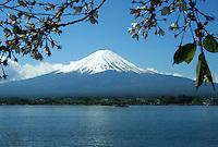 Cycling, hiking, camping, fishing and just sightseeing are the main entertainments around Mt Fuji along the shores of Lake Yamanaka or Yamanaka-ko, one of the Fuji Five Lakes near Fuji Hakone National Park.