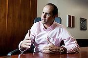Contagem_MG, Brasil.<br /> <br /> Ricardo Nunes, fundador da empresa Ricardo Eletro.<br /> <br /> Ricardo Nunes, a Ricardo Eletro founder.<br /> <br /> Foto: NIDIN SANCHES / NITRO