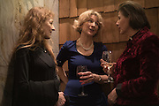 CANDIDA CREWE; JANE THYNNE; REV CHARLOTTE BANNISTER-PARKER, Launch of The Happy Kitchen: Good Mood Food, by Rachel Kelly and Alice Mackintosh. Squirrel, South Kensington. London. 31 January 2017