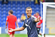 AFC Wimbledon Forward Kwesi Appiah (9) during the Pre-Season Friendly match between AFC Wimbledon and Watford at the Cherry Red Records Stadium, Kingston, England on 15 July 2017. Photo by Jon Bromley.