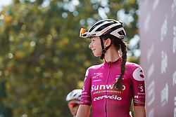 Liane Lippert (GER) at Strade Bianche - Elite Women 2020, a 136 km road race starting and finishing in Siena, Italy on August 1, 2020. Photo by Sean Robinson/velofocus.com