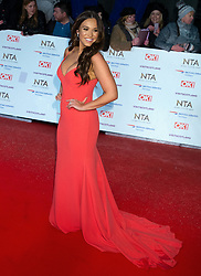 National TV Awards Red Carpet Arrivals at the 02 Arena in London, 22 January 2018.<br /><br />22 January 2019.<br /><br />Please byline: Vantagenews.com