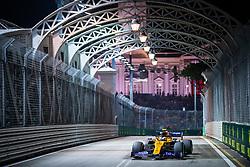September 20, 2019, Singapore, Singapore: Motorsports: FIA Formula One World Championship 2019, Grand Prix of Singapore, .#4 Lando Norris (GBR, McLaren F1 Team) (Credit Image: © Hoch Zwei via ZUMA Wire)