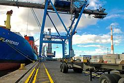 Contêiners para carga e descarga nos navios do Porto de Rio Grande. FOTO: Alfonso Abraham/Preview.comContêiners para carga e descarga nos navios do Porto de Rio Grande. FOTO: Jefferson Bernardes/Preview.com