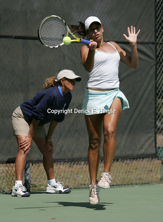 Soledad Esperon of Argentina during the AT&T ITF Women's Tennis Circuit $25,000 Challenger Tournament played on March 27, 2008 at Oak Knoll Country Club in Hammond, LA.