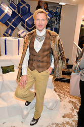 HENRY CONWAY at a party to celebrate 'Kitmas' at Kit & Ace at 80-82 Regent Street, London on 9th December 2015.