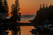 Port Protection is a small Southeast Alaska town that as its name implies is a very protected harbor.