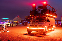 The Dust Bus Mutant Vehicle from Dustfish - (Thanks to Gleamlaw for the name here) https://Duncan.co/Burning-Man-2021