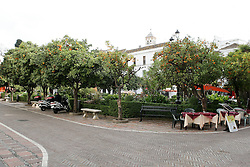 10.01.2012, Marbella, Spanien, ESP, Marbella im Focus, im Bild Der Orangenplatz (Plaza de Naranjas) in der Altstadt von Marbella, Andalusien, Spanien. EXPA Pictures © 2012, PhotoCredit: EXPA/ Eibner/ Andre Latendorf..***** ATTENTION - OUT OF GER *****