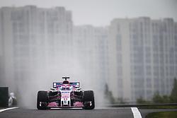 April 13, 2018 - Shanghai, China - SERGIO PEREZ (mex), Force India F1 VJM11, action during 2018 Formula 1 FIA world championship,Chinese Formula One Grand Prix Shanghai Circuit April 08, 2018 in Shanghai, China  (Credit Image: © Hoch Zwei via ZUMA Wire)