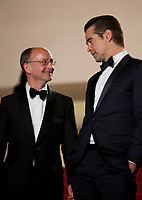 Ed Guiney and Colin Farrell at The Killing of a Sacred Deer gala screening at the 70th Cannes Film Festival Monday 22nd May 2017, Cannes, France. Photo credit: Doreen Kennedy