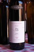 A bottle of Rio de los Pajaros Reserva Progreso Tannat 2004. Bodega Pisano Winery, Progreso, Uruguay, South America