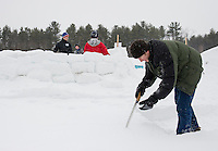 Winterfest at Prescott Farm Saturday, February 14, 2015.  Karen Bobotas for the Laconia Daily Sun