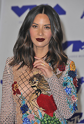 Olivia Munn at the 2017 MTV Video Music Awards held at The Forum on August 27, 2017 in Inglewood, CA, USA (Photo by Sthanlee B. Mirador/Sipa USA)
