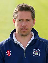Gloucestershire CCC assistant coach Mark Thorburn - Photo mandatory by-line: Dougie Allward/JMP - 07966 386802 - 10/04/2015 - SPORT - CRICKET - Bristol, England - Bristol County Ground - Gloucestershire County Cricket Club Photocall.