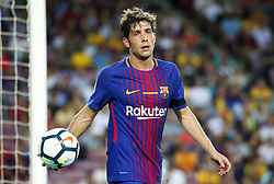 August 20, 2017 - Barcelona, Spain - Sergi Roberto during La Liga match between F.C. Barcelona v Real Betis Balompie, in Barcelona, on August 20, 2017. hoto: Joan Valls/Urbanandsport/Nurphoto  (Credit Image: © Urbanandsport/NurPhoto via ZUMA Press)