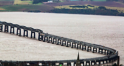 The Tay Rail Bridge from The Law,  Dundee.