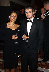 Writer ZADIE SMITH a finalist in the 2005 Man Booker Prize and poet NICK LAIRD at a dinner to announce the 2005 Man Booker Prize held at The Guilhall, City of London on 10th October 2005.<br /><br />NON EXCLUSIVE - WORLD RIGHTS