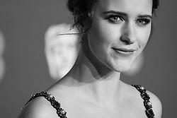 Rachel Brosnahan attending 72nd British Academy Film Awards, Arrivals, Royal Albert Hall, London. 10th February 2019