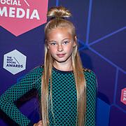 NLD/Amsterdam/20190613 - Inloop uitreiking De Beste Social Awards 2019, Summer de Snoo