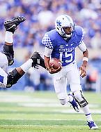 Stephen Johnson.<br /> <br /> The University of Kentucky Football team falls to Ole Miss, 37-34 on Saturday, November 4, 2017 at Kroger Field in Lexington, Ky.<br /> <br /> Photo by Elliott Hess   UK Athletics