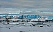 Scenery from Vestvaagöy, Lofoten, Norway in February 2013.