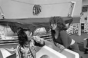 BP Fallon with Angie Errigo 1977