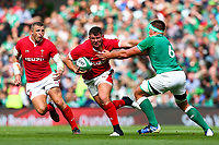 Rugby Union - 2019 pre-Rugby World Cup warm-up (Guinness Summer Series) - Ireland vs. Wales<br /> <br /> CJ Stander (Ireland) tackles Elliot Dee (Wales) at The Aviva Stadium.<br /> <br /> COLORSPORT/KEN SUTTON