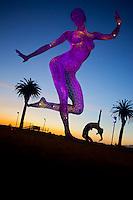 Mimhee Cha at Bliss Dance Sculpture, Treasure Island, San Francisco