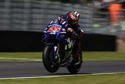 June 2, 2018 - Mugello, FI, Italy - Maverick Vinales of Movistar Yamaha MotoGP during the qualifying  of the Oakley Grand Prix of Italy, at International  Circuit of Mugello, on June 2, 2018 in Mugello, Italy  (Credit Image: © Danilo Di Giovanni/NurPhoto via ZUMA Press)