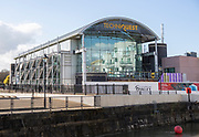 Techniquest building science and discovery centre museum, Mermaid Quay, Cardiff Bay, Cardiff, South Wales, UK
